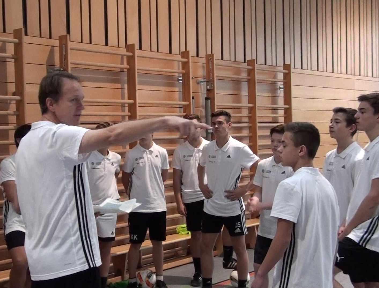 DFB-Junior-Coach-Ausbildung an der DBRS